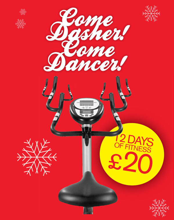 Come Dasher! Come Dancer! 12 Days of Fitness £20